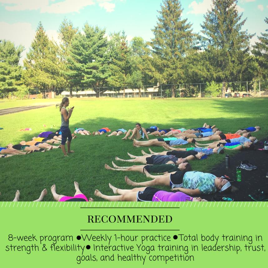 8 Week Teen Yoga Program